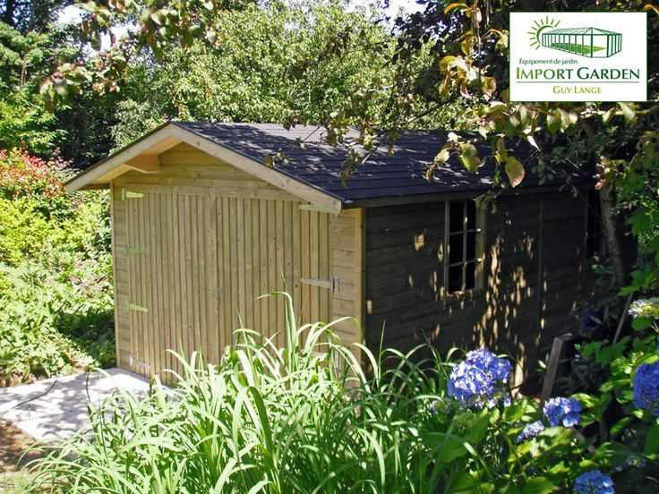 11 best garage et carport en bois images on pinterest garage garage classique en bois parfaitement intgr au jardin solutioingenieria Gallery