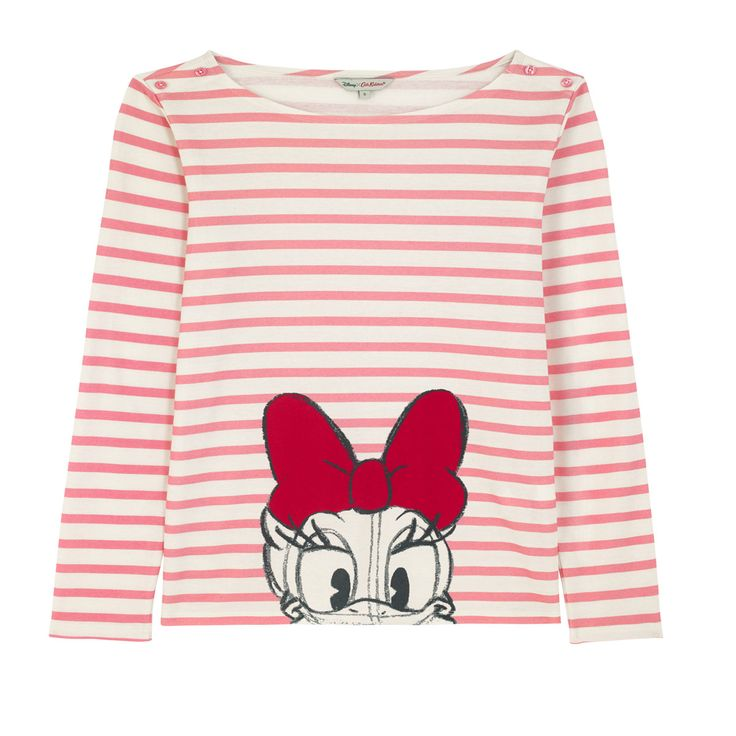 Size XS.     Mickey and Friends Daisy Placement Top | Mickey Mouse Fashion | CathKidston