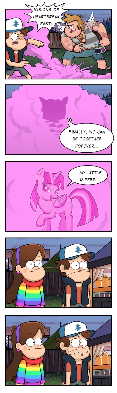 Gravity Falls Feet Porn Pony Comics - I LOVE THIS WAY TOO MUCH! Dipper's secret crush by markmak on DeviantArt.  Secret CrushGravity Falls ComicsGravity ...