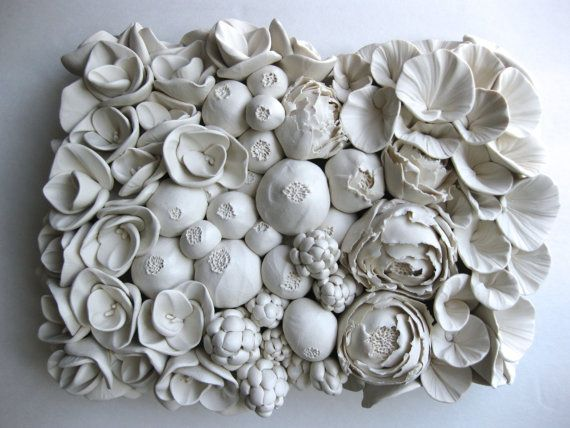 Floral Wall Sculpture Tile or Design your own