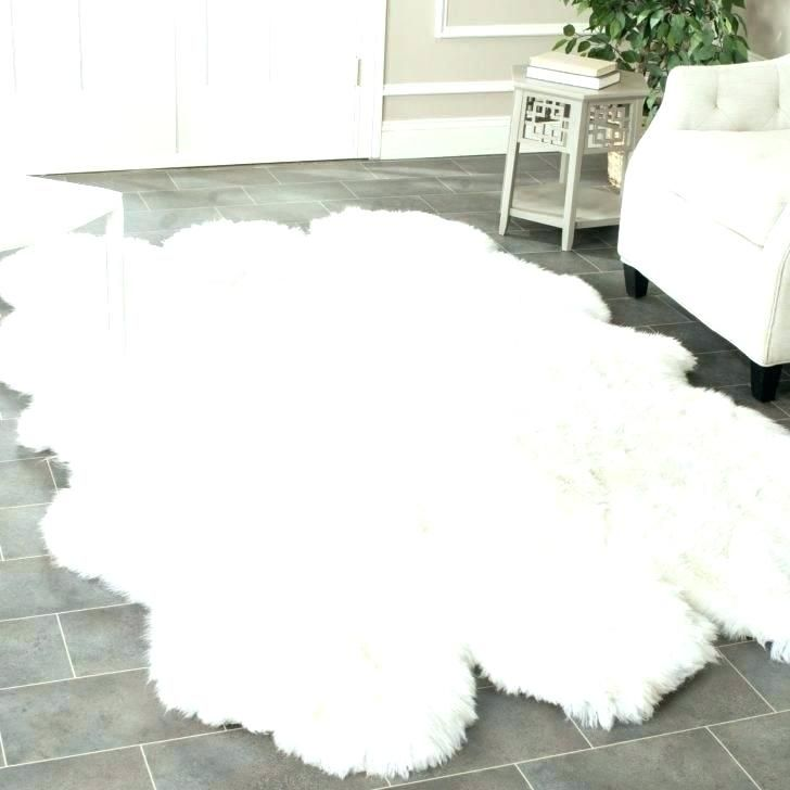 Super White Faux Rug Images Fresh And Rugs Sheepskin Medium Size Of Area Pink 68
