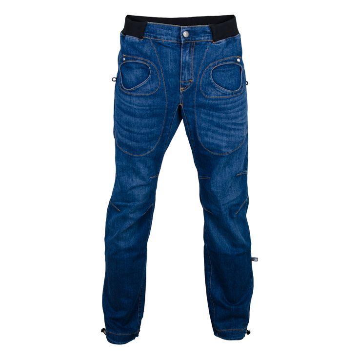 Rondo Denim Pants Men, Pánské outdoor kalhoty E9 | Hudy.cz