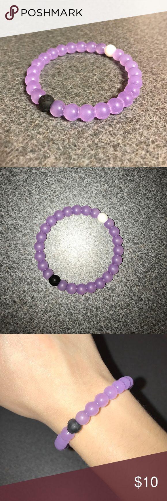 Purple Lokai Bracelet Gently used. In great condition! Size M. Lokai Jewelry Bracelets