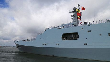 China sends ships, troops to 1st overseas military base in Horn of Africa https://tmbw.news/china-sends-ships-troops-to-1st-overseas-military-base-in-horn-of-africa  Chinese troops have been deployed to the country's first overseas military base, in Djibouti on the Horn of Africa. Beijing says the base will be used for logistical purposes, such as resupplying ships taking part in peacekeeping and humanitarian missions.Ships carrying personnel from the People's Liberation Army (PLA) were…