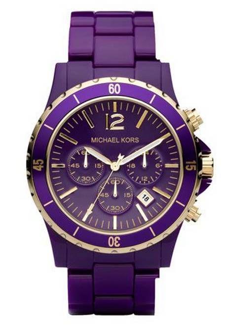Michael Kors Purple Watch