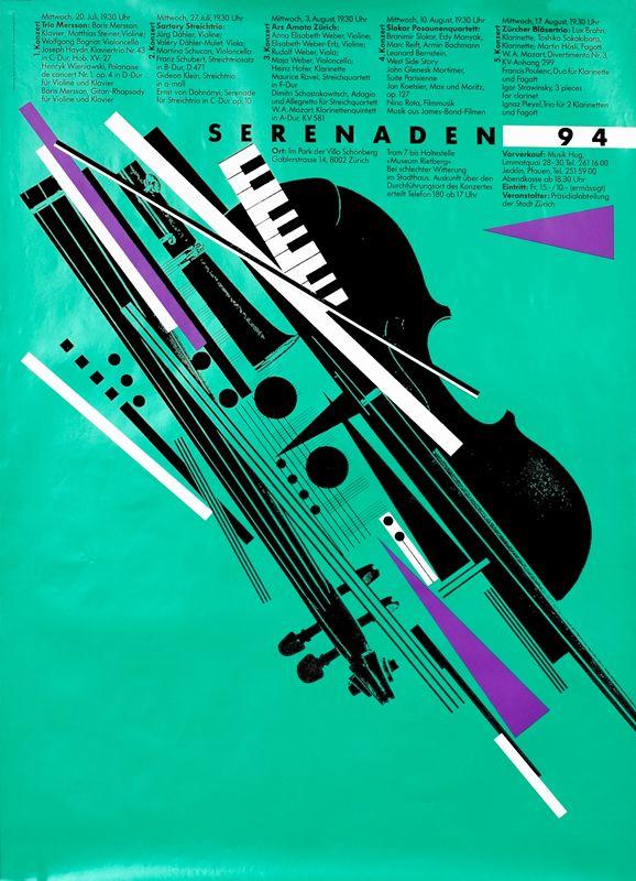 Serenaden 94 by Tissi, Rosemarie | Vintage Posters at International Poster Gallery