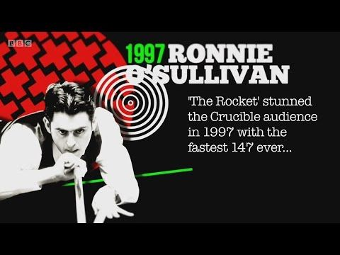 Classic Crucible 147s - 1997 WSC, Ronnie O'Sullivan 【BBC, HD】 - YouTube