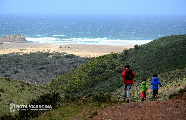 Running downhill by Rota Vicentina, via Flickr, Portugal, Family fun