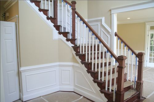Foyer Stairs Meaning : Best images about wainscoting lambris on pinterest