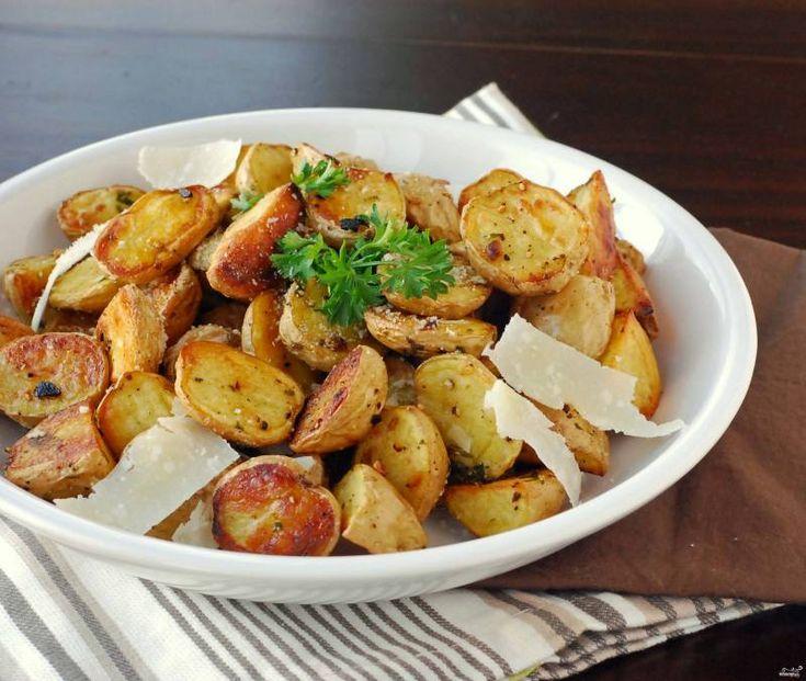 Запеченный картофель в рукаве - рецепт с фото на Повар.ру