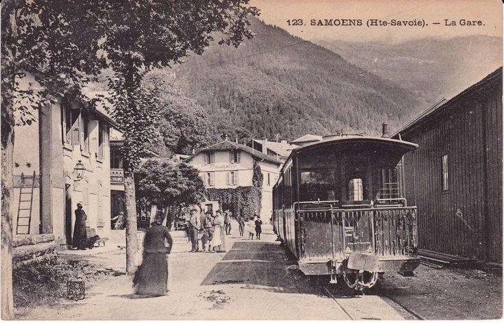 Samoëns - la-gare-1907.jpg (1600×1028) ÷÷ CA-POST-ANC