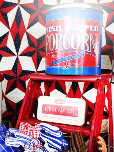 The 25 best Americana home decor ideas on Pinterest Flag decor