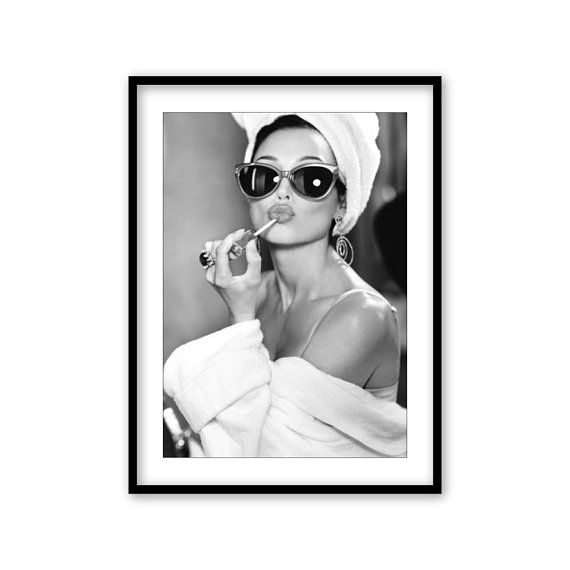 Audrey Hepburn Wall Art Framed Audrey Hepburn Wall Art Black And