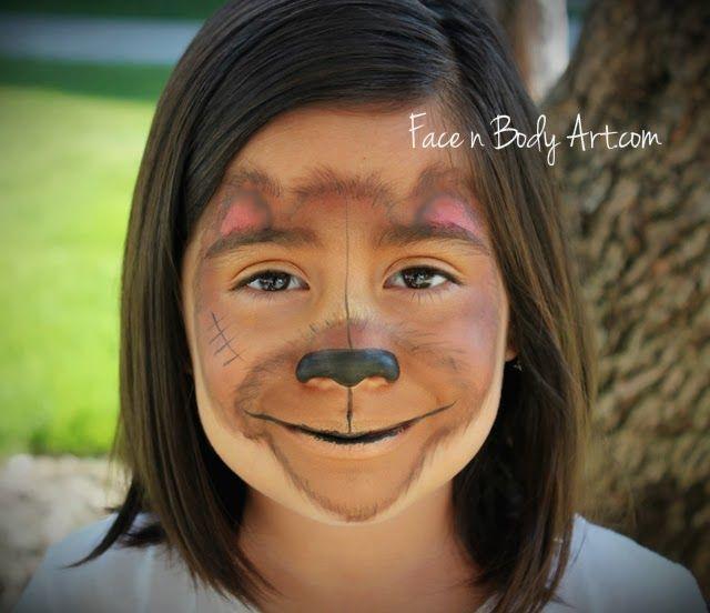 Shawna D. Make-up: Paddington Bear inspired face painting