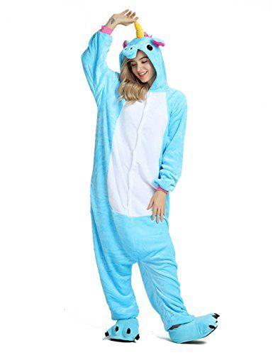 Party Chili Unisex Unicorn Onesie Pajamas Animal Costume Sleepwear With  Monster Slipper Paws Shoes  shorts  swimwear  sleepwear  mens  clothing be8345ecb