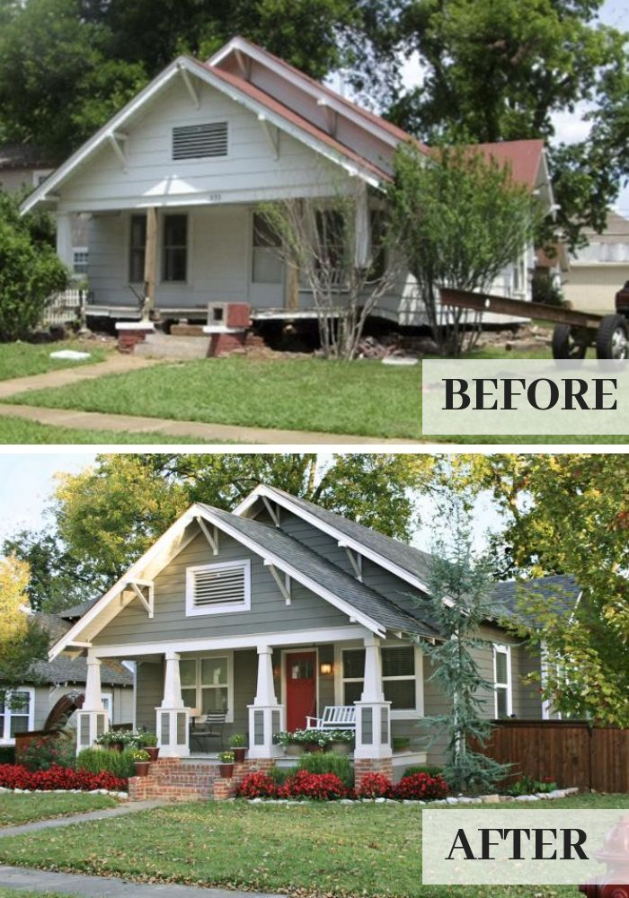6 Jaw Dropping Curb Appeal Makeovers This Old House Curbappeal House Jawdropping Makeovers House Exterior Home Exterior Makeover Exterior Makeover