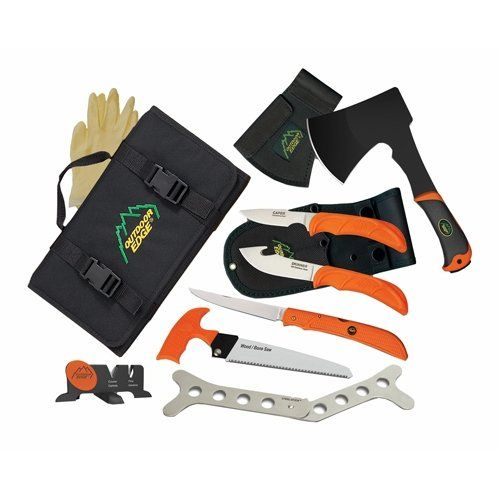 Outdoor Edge The Outfitter Hunting Knife Set *** Details can be found by clicking on the image.