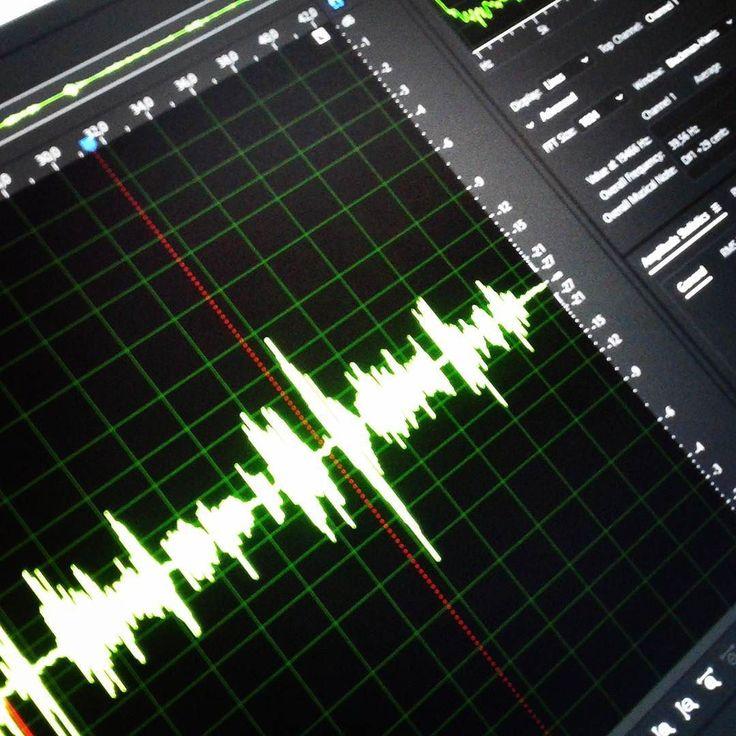 Audio waves  #audiowaves #Instagram #instacool #audio #recording #recordingsounds #studio #studiomicrophone #neewer #microphone #adobeaudition #screencapture #pc #followback #f4f #followme #green #greencolor #electronics #tech