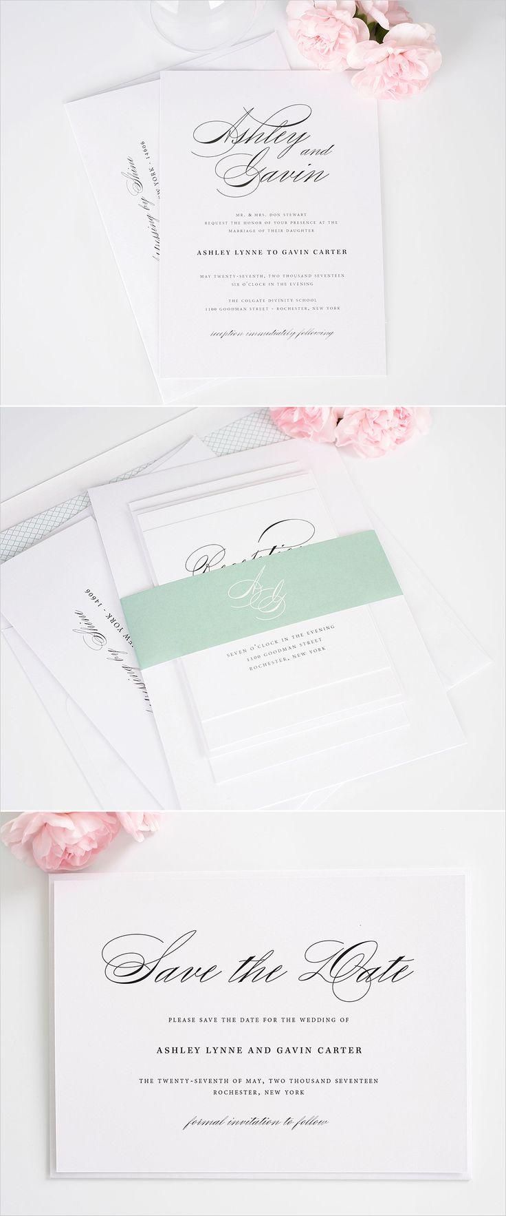 333 Best The Invitations Images On Pinterest Bridal Invitations