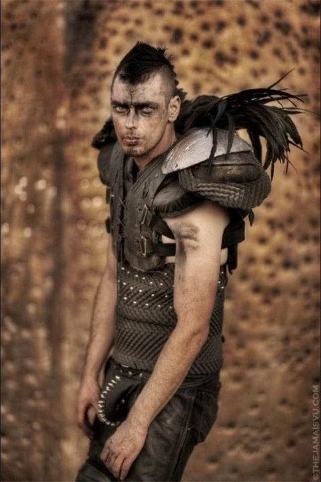 Makeup Post Youtube: Armor... Uses American Football Pads. Shin Gaurds Might Be
