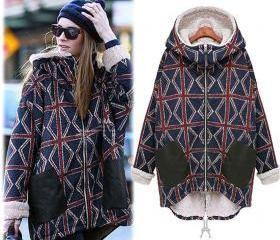 New Lady Women Thicken Warm Winter Coat Hood Parka Overcoat Long Jacket Outwear