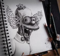 Mejores 32 imgenes de Arte en Pinterest  Dibujos Pez y Graffitis