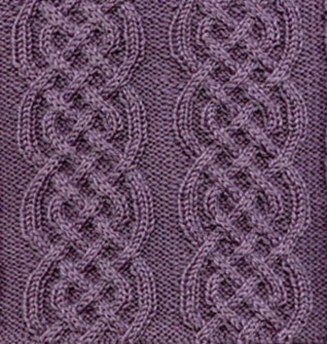 Free Pattern: Afghan block - Celtic Braid by Sarah Bradberry