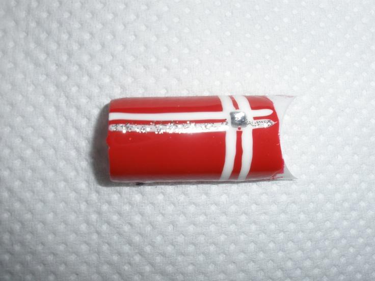 Χριστουγεννιάτικο σχέδιο για manicure_No1