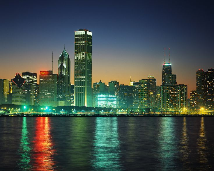 City of Chicago in Illinois