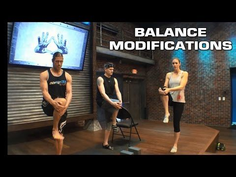 DDP YOGA Balance Modifications with Adam, Stevie and Christina. #ddpyoga