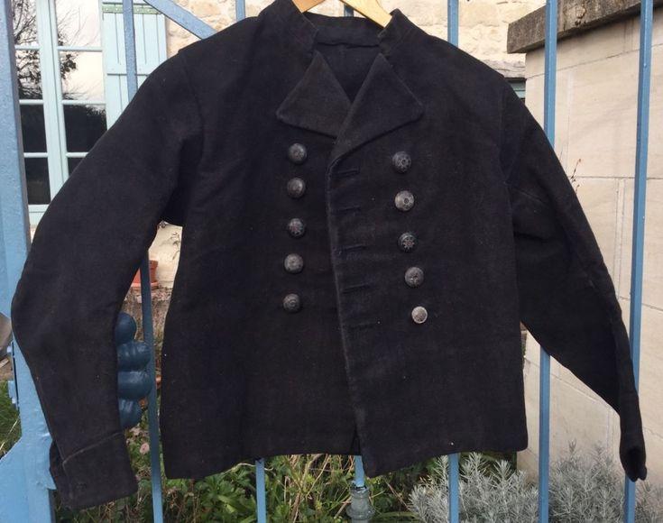 Lovely Antique moleskin fisherman jacket,workwear jacket,veste de travail ancien | Antiques, Linens & Textiles (Pre-1930), Fabric | eBay!