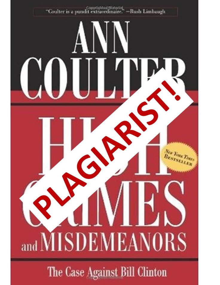"The cover-up for Ann Coulter's plagiarism in 1998 continued in 2014. See ""Ann Coulter's Plagiarism Cover-up 2014"" at http://wp.me/p4jHFp-4o.  This free 245-page PDF book – Propaganda: Orwell in the Age of Ann Coulter – is available at www.coulterwatch.com/propaganda.pdf."