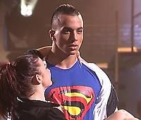 Timor Steffens (dancer - choreographer - actor) From Timor's facebook oct. 14 2013: Feeling like SUPERMAN aka CLARK KENT! Performed a HipHop lyrical performance on SuperHuman by Chris Brown. (How Ironic!:P)