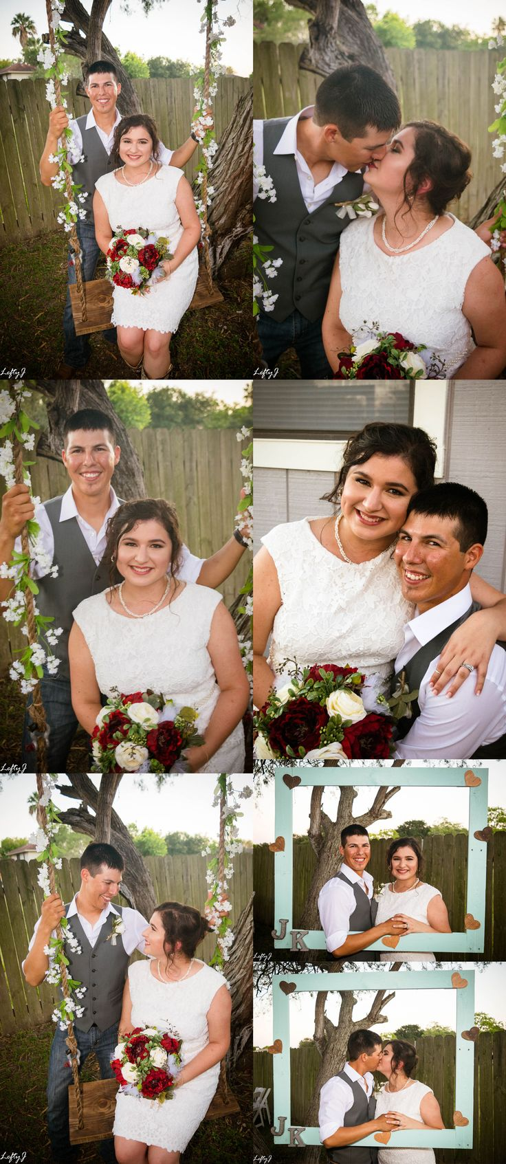 Wedding photography by Lefty J Photography in Corpus Christi, TX #weddingphotos #weddingphotography #weddingphotoshoot #wedding #backyardwedding #corpuschristi #corpuschristiphotography #corpuschristiphotographer #fallwedding #octoberwedding