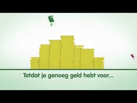 Introductie animatie Bank voor de klas, Week van het geld - YouTube