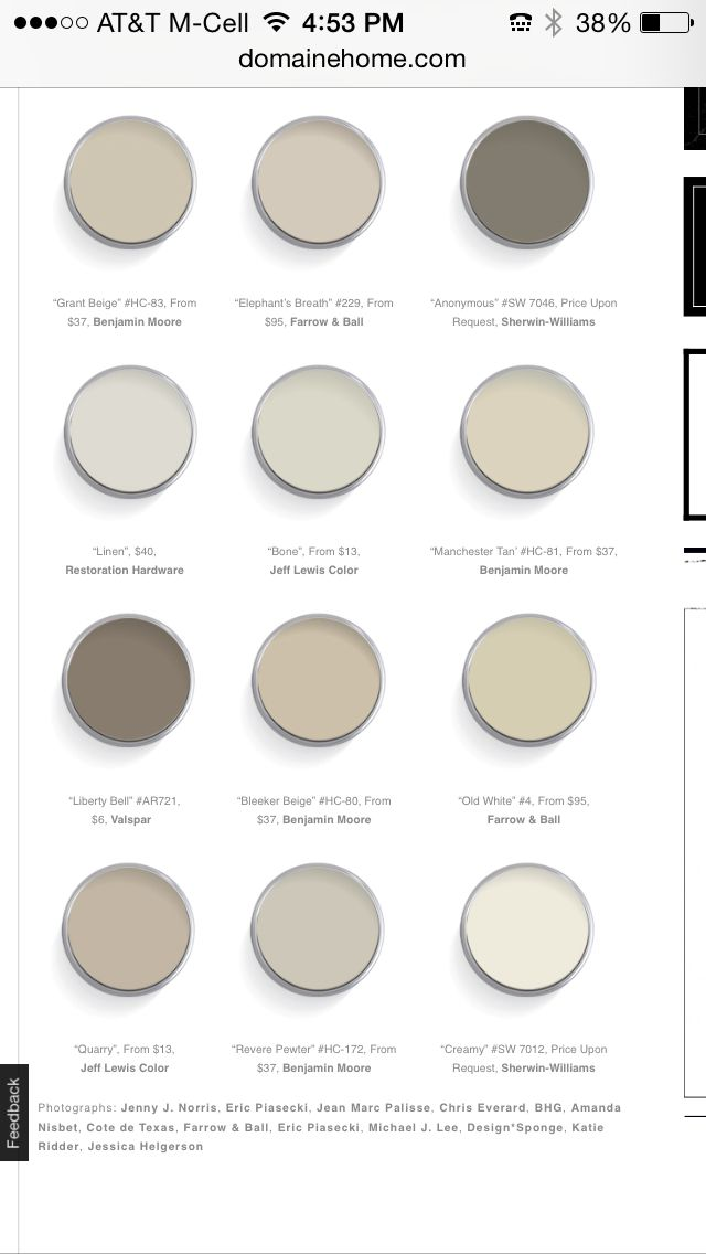 Neutral Paint Colors Also Timidity From Pittsburgh Paints
