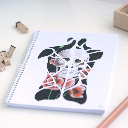 Libreta – Back - ARTISTA Andrea Alonso