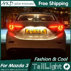 [ $25 OFF ] Akd Car Styling For Mazda 3 Tail Lights 2015 New Mazda3 Axela Led Tail Light Orignal Design Led Rear Lamp Drl+Brake+Park+Signal