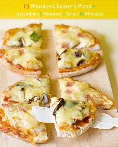 Weight Watcher Pizza