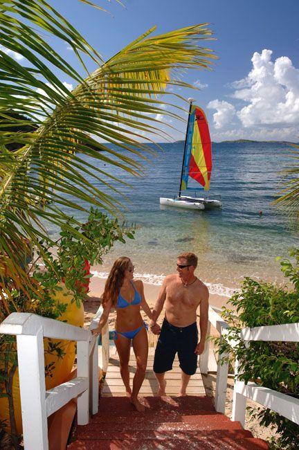 Bolongo Bay Beach Resort, St. Thomas, USVI, All Inclusive Resort, Caribbean Vacation, Watersports, Beach Activities, sailing, Caribbean Sea