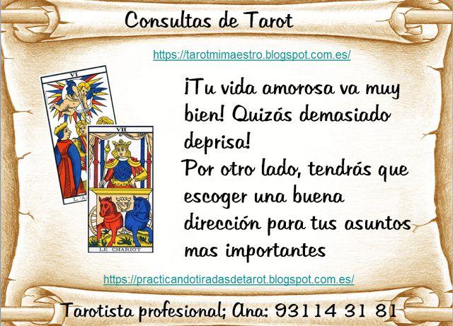 Ana Tarot: #QUE LE DICEN LOS #ENAMORADOS AL CARRO/ JUSTICOA/ E...