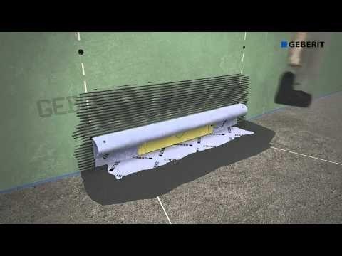 Монтаж трапа в стену (II поколение) - YouTube