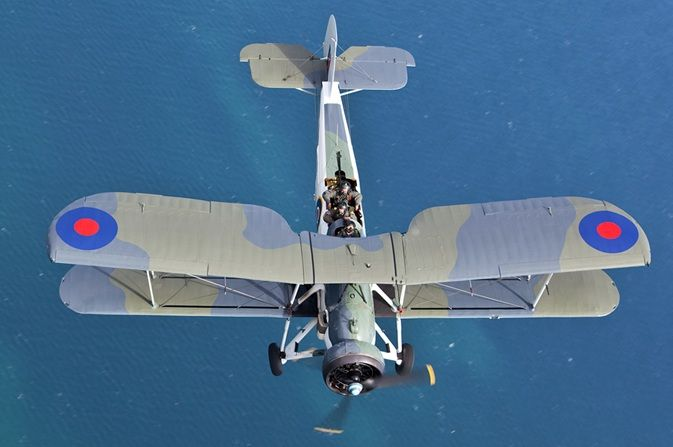 Royal Navy Historic Flight Fairey Swordfish LS326 © Lee Howard