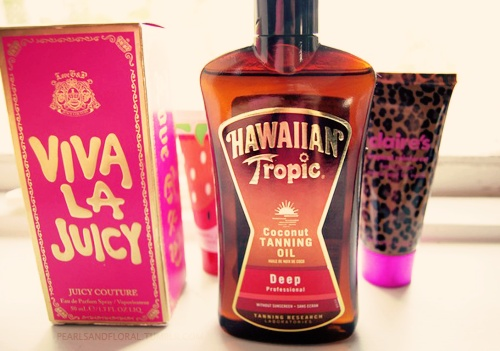 Makes for a good day. Have Viva La Juicy but I want Hawaiian Tropic<3