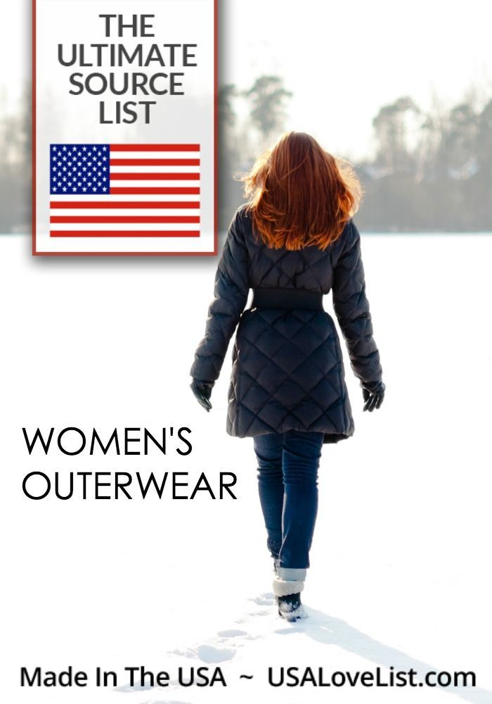 Ameican made women's outerwear #coat #peacoat #leatherjacket #madeintheusa #madeinUSA #usalovelisted