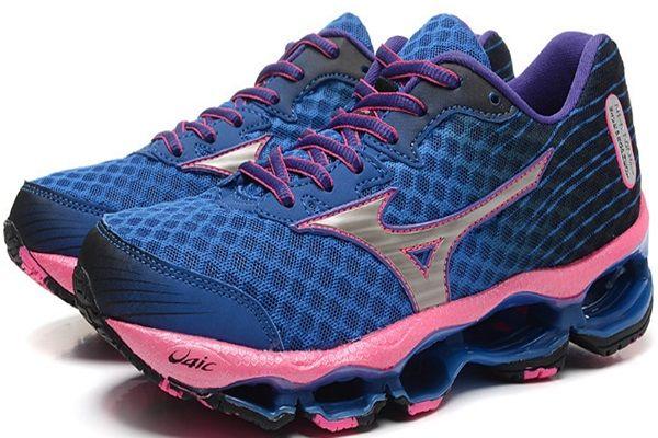 Tênis Feminino Mizuno Wave Prophecy 4 - Azul e Rosa De R$ 925,00 Por R$ 473,60 ou 3X R$ 157,87  Acesse: http://www.starmoda.com.br/tenis-feminino-mizuno-wave-prophecy4-TFMWP2