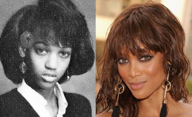 Tyra Banks - oh yes, she got some work done on her face. Maybe we all can be super models if we are willing to go under the knife and get the perfect face!