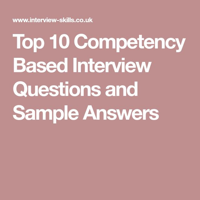 Best 25+ Competency based interview questions ideas on Pinterest - best interview answers