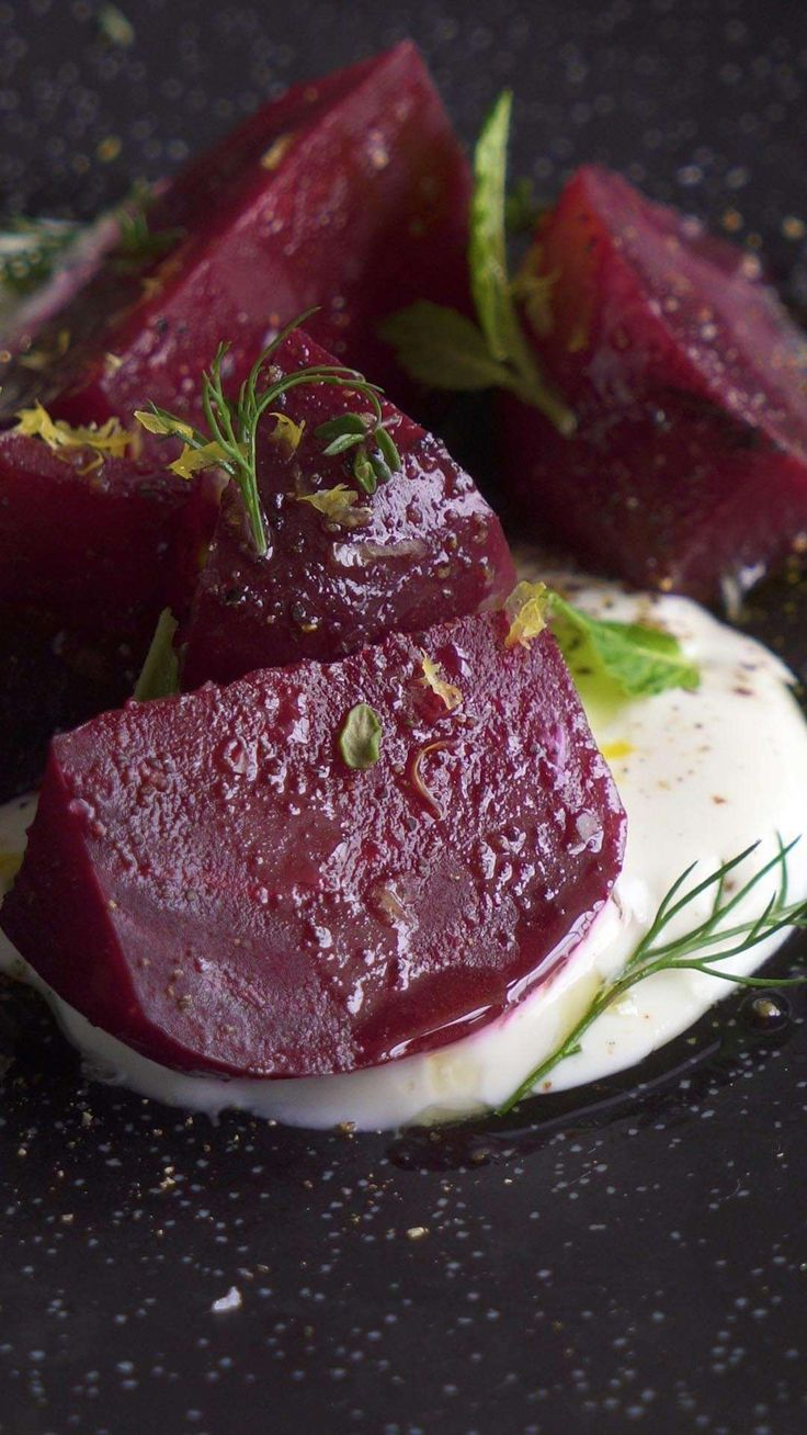 Joule cooks beets perfectly every time—tender, savory, and sweet. Use these sous vide beets in salads, side dishes, and with hearty winter meat braises.