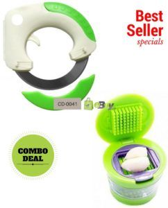 Bolo Rolling Knife & Mini Garlic Chopper Online in Pakistan